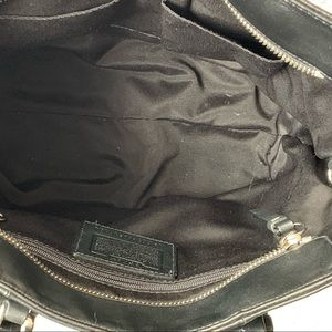 Coach Bags - Coach Black Leather Shoulder Tote